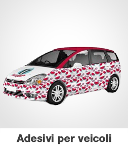 Adesivi per auto