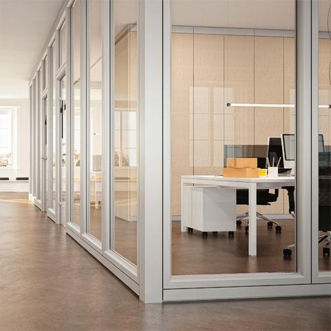 Soluzioni ufficio affiliato buffetti a milano pareti for Pareti mobili ufficio
