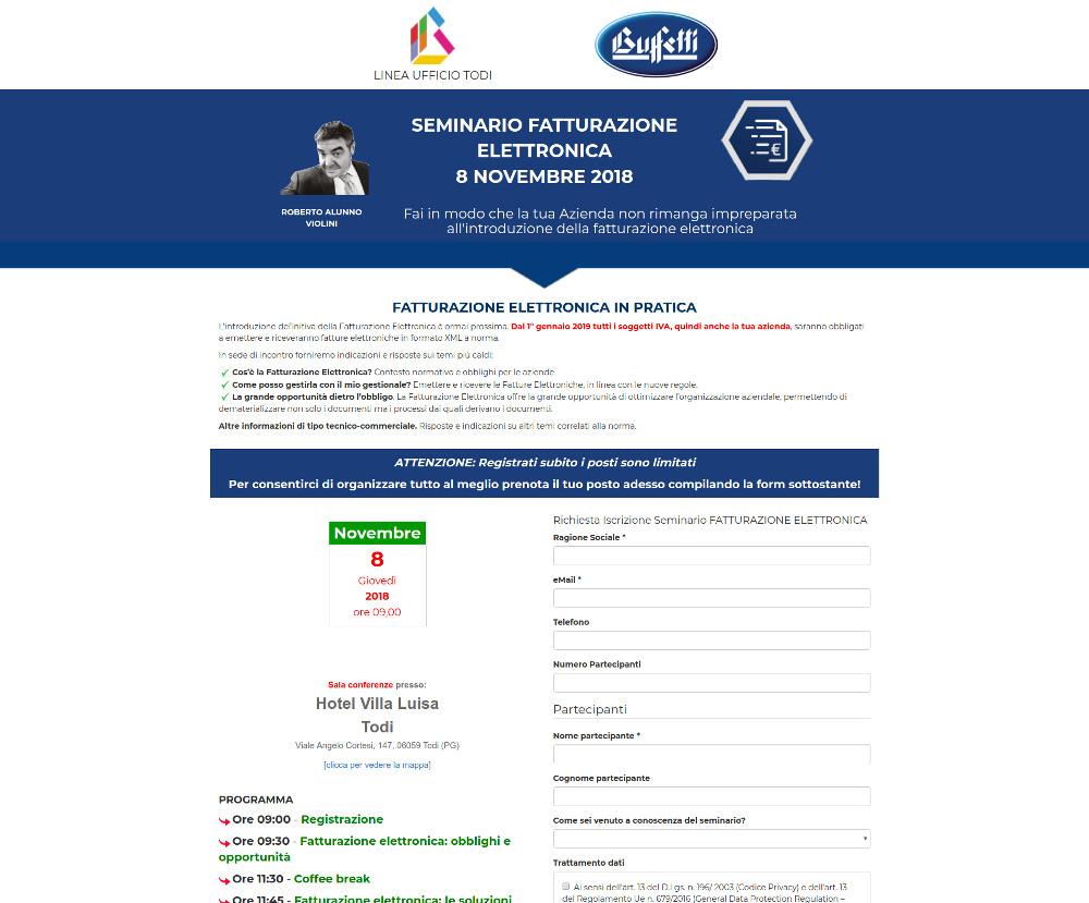 Linea Ufficio Todi