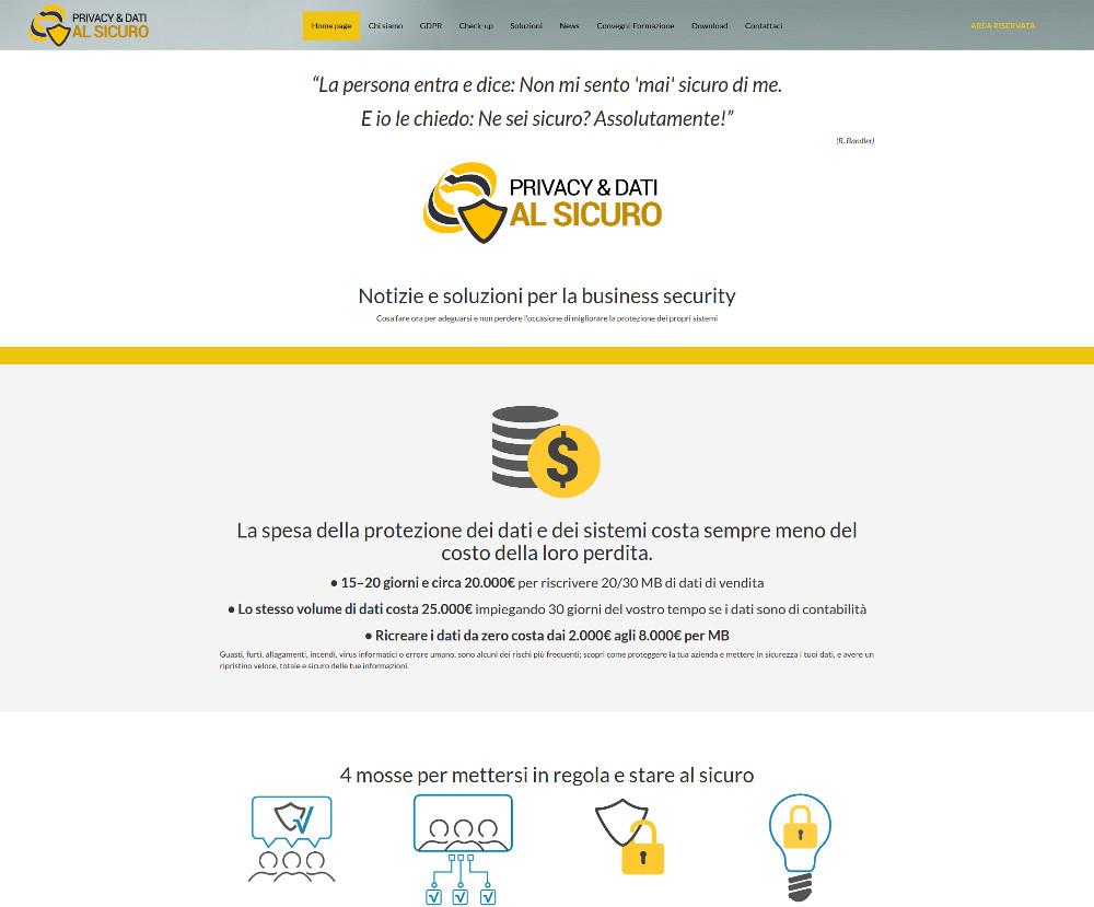 Privacy e Dati al Sicuro